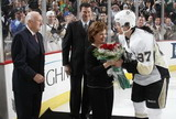 Sidney Crosby, Mario Lemieux, Eddie Johnston