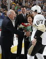 Eddie Johnston, Mario Lemieux, Sidney Crosby