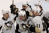 Chris Bourque, Sidney Crosby, Pascal Dupuis, Jordan Staal, Evgeni Malkin