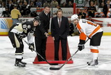 Mario Lemieux, Sidney Crosby, Mike Richards
