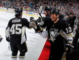 Arron Asham, James Neal, Richard Park