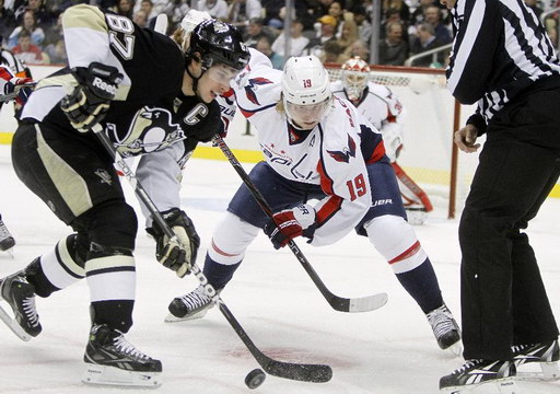 Sidney Crosby, Nicklas Backstrom